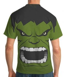 Hulk printed shirts