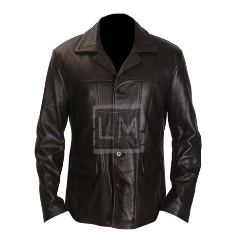 24 Kiefer Sutherland Jack Bauer Black Leather Jacket