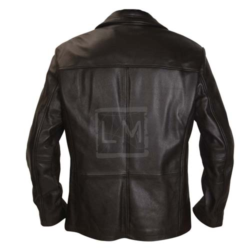 24 Kiefer Sutherland Black Faux Leather Jacket