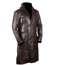 Assassins Creed Syndicate Brown Faux Leather Coat 2