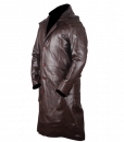 Assassins Creed Syndicate Brown Faux Leather Coat 3