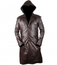 Assassins Creed Syndicate Brown Faux Leather Coat 5