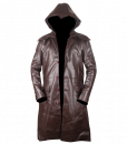 Assassins Creed Syndicate Brown Faux Leather Coat 7