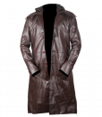 Assassins Creed Syndicate Brown Faux Leather Coat 8