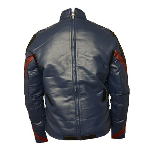 Avengers Endgame Captain America Genuine Leather Jacket Cosplay