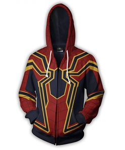 Avengers Infinity War Spider-Man Cotton Hoodie