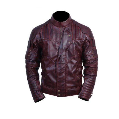 Avengers Infinity War Star Lord Genuine Leather Jacket