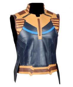 Avengers Infinity War Thanos Faux Leather Vest