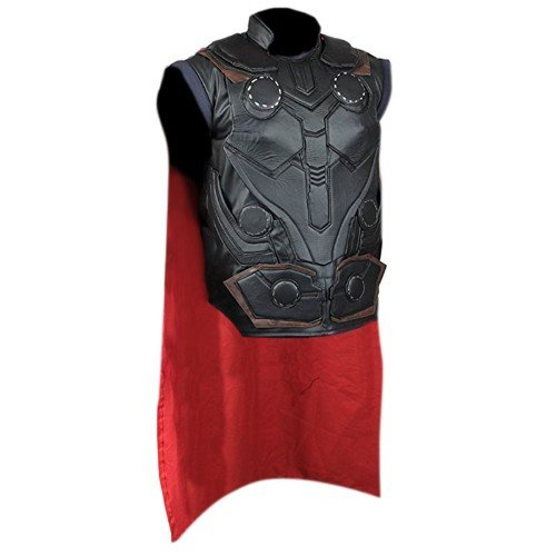 Avengers Infinity War Thor Faux Leather Vest