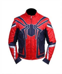 Avengers Infinity War Spider-Man Leather Jacket