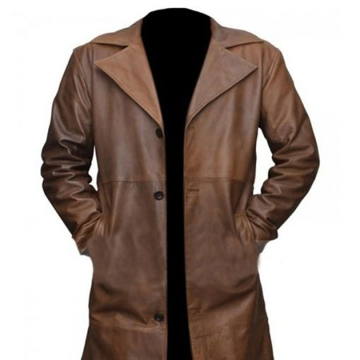 Batman V Superman Dawn Of Justice Knightmare Leather Trench Coat