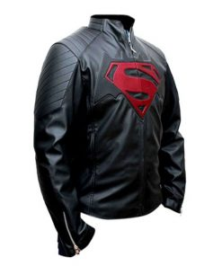 Batman Vs Superman Dawn Of Justice Black Leather Jacket