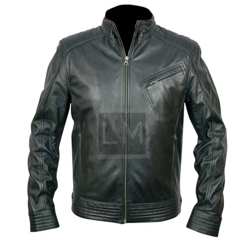 Bourne Legacy Black Faux Leather Jacket