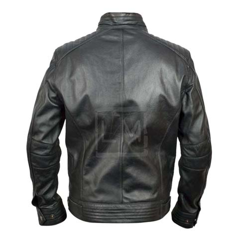 Bourne Legacy Leather Jacket Jeremy Renner Aaron Cross