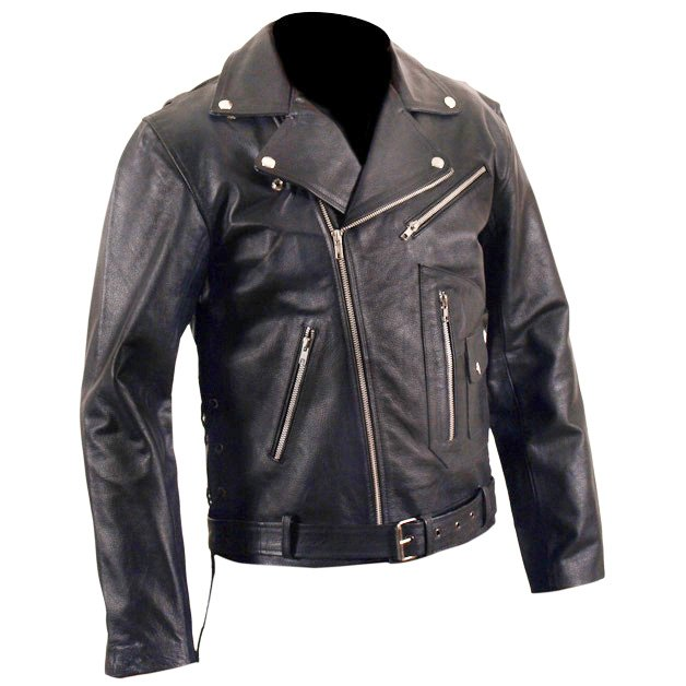 Brando Marlon Brandos The Wild One Black Biker Leather ...