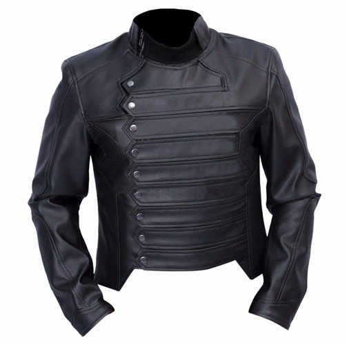 Bucky Barnes Leather Jacket 1
