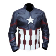 Captain America Civil War Faux Leather Jacket 5