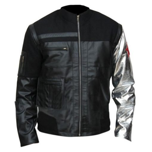Bucky Barnes Leather Jacket