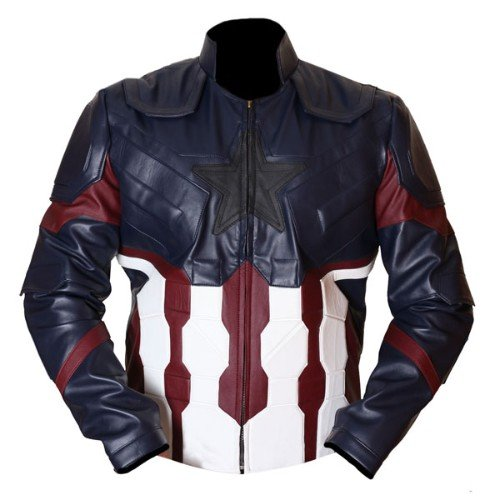 Captain America Infinity Wars Genuine Real Leather Jacket