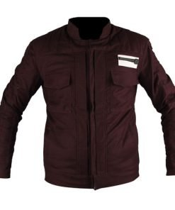 Captain Cassian Andor Dark Purple Jacket