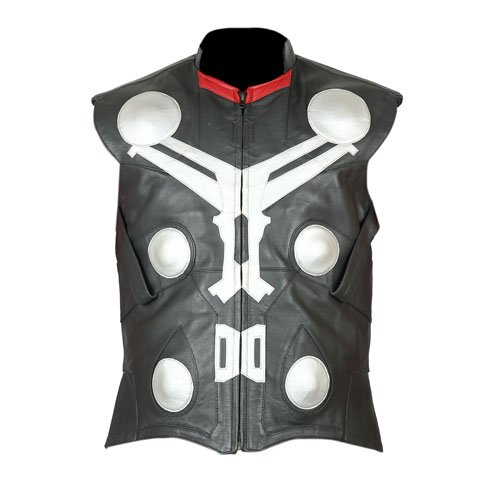 Thor Genuine Leather Vest
