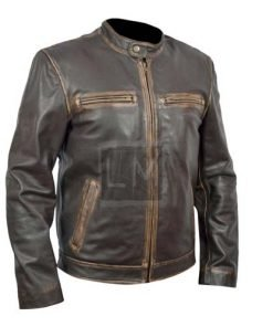 Contraband Mark Walhberg Chris Farraday Genuine Leather Jacket