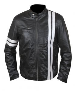 Driver San Francisco John Tanner Black Biker Slim Fit Rider Gaming Leather Jacket