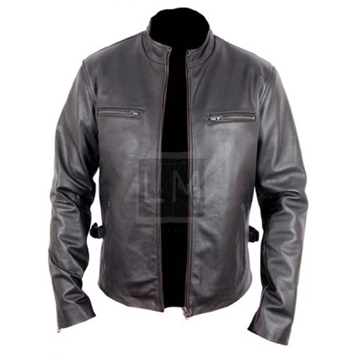 Fast And The Furious 7 Black Leather Jacket