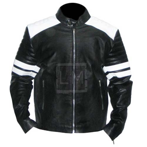 Fight Club Black Faux Leather Jacket