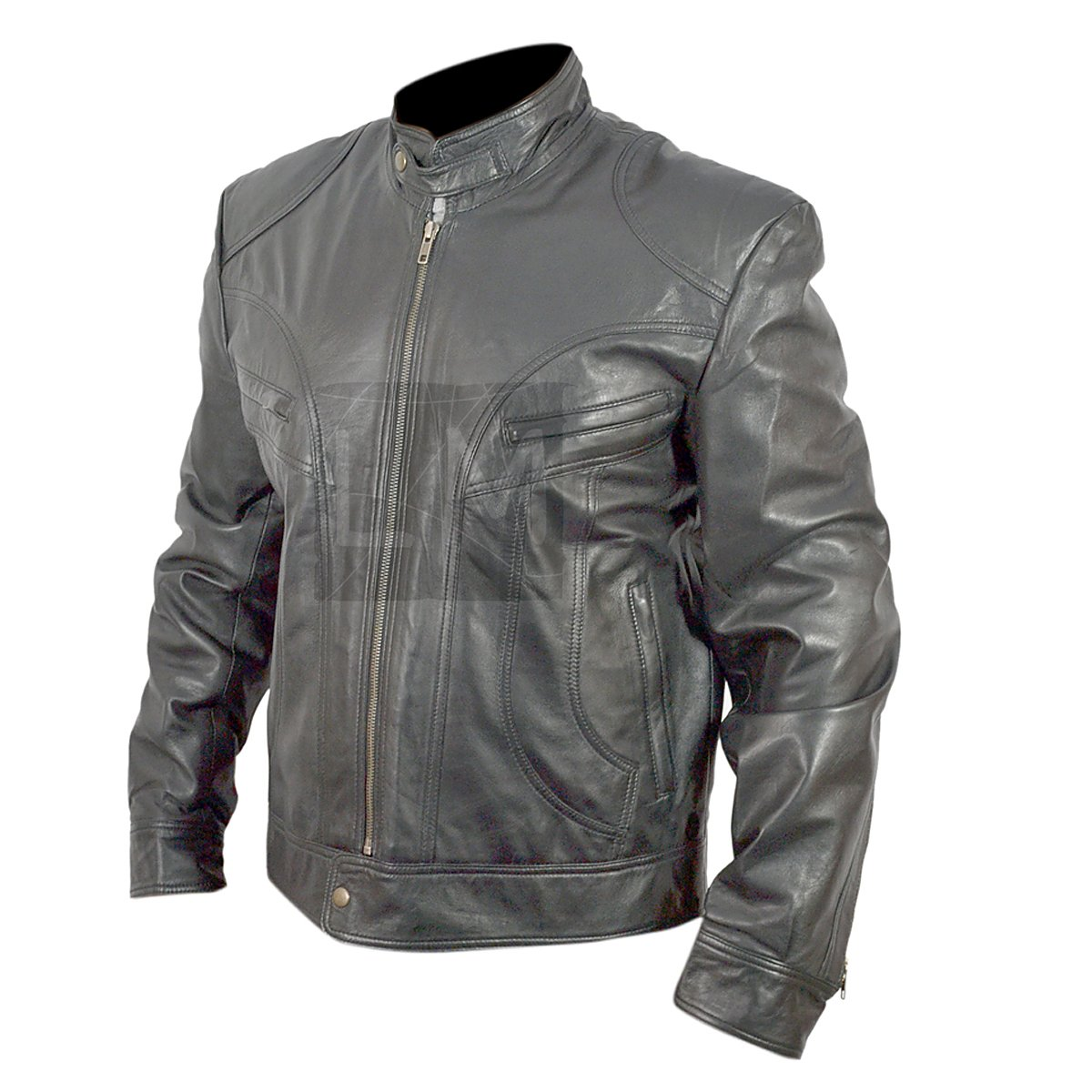 Ghosts of Girlfriends Past Black Leather Jacket