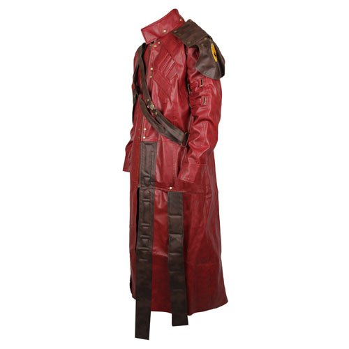 Guardians Of The Galaxy Faux Leather Coat Star Lord