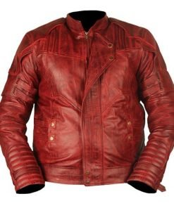 Guardians Of The Galaxy Vol 2 Genuine Leather Jacket Waxed