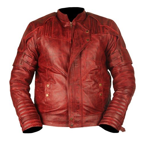 Guardians Of The Galaxy Vol 2 Genuine Leather Jacket Waxed Star Lord