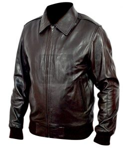 Happy Days Dark Brown Leather Jacket