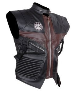 Avengers Hawkeye Faux Leather Vest