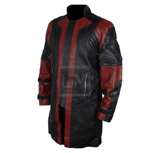 Hawkeyes Genuine Leather Coat
