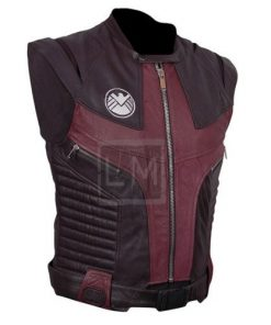 Avengers Hawkeye Genuine Leather Vest