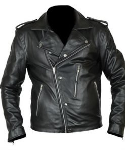 David Beckham GQ Magazine Faux Leather Jacket