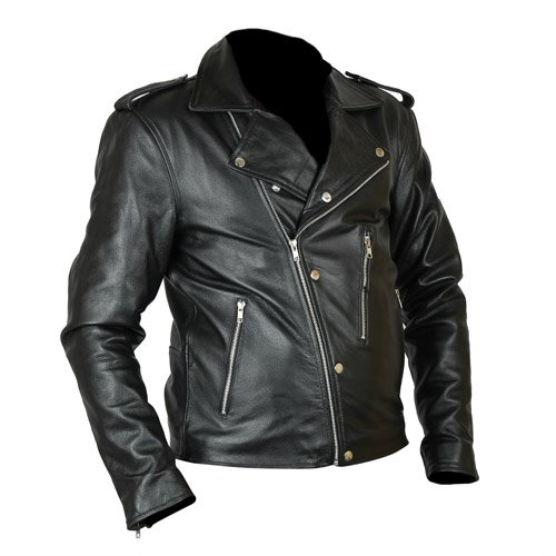 David Beckham GQ Magazine Genuine Real Biker Leather Jacket