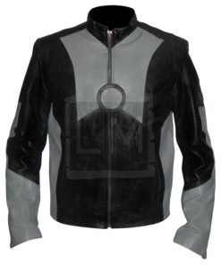 Iron Man 2 Tony Stark Robert Downey Jr Genuine Leather Jacket