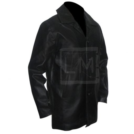 Supernatural Dean Winchester Genuine Black Leather Jacket