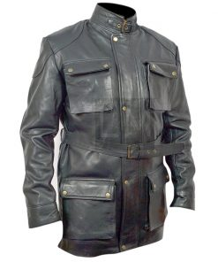 I am Legend Will Smith Black Leather Jacket