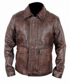 Indiana-Jones-Distressed-Brown-Leather-Jacket
