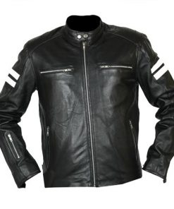 Joe Rocket Black Biker Leather Jacket