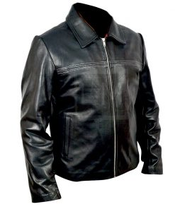 Layer Cake Black Genuine Leather Jacket