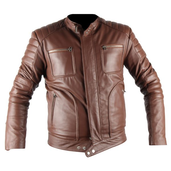 Leo belstaff brown faux leather jacket leather madness for What is faux leather to real leather
