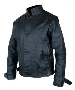 Michael Jackson Thriller Black Genuine Leather Jacket