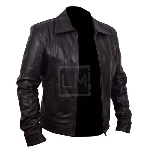 Moody Season 5 Black Faux Leather Jacket