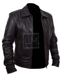 Moody Californication Black Cowhide Genuine Leather Jacket