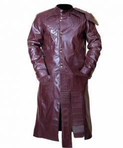 Guardians Of The Galaxy Starlord Faux Leather Coat